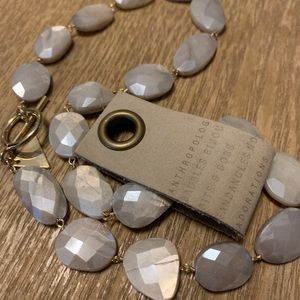 Anthropologie Jewelry - NWT 🌙 ANTHRO Mirah moonstone necklace 🌙